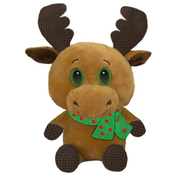 First & Main Stuffed Christmas Moose