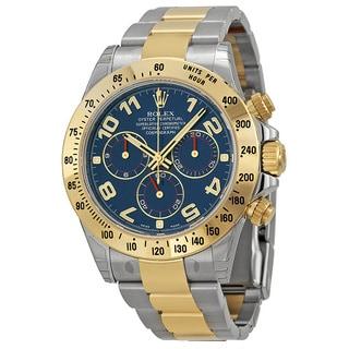 Rolex Men's Daytona Blue Dial Watch