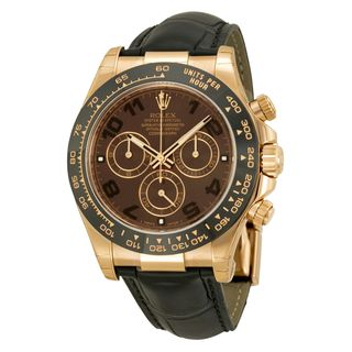 Rolex Men's Daytona Brown Dial Watch