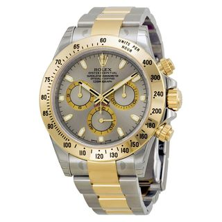Rolex Men's Daytona Grey Dial Watch