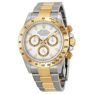 Rolex Men's Daytona White Dial Watch