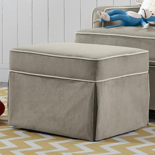 Baby Relax Taupe Gliding Ottoman