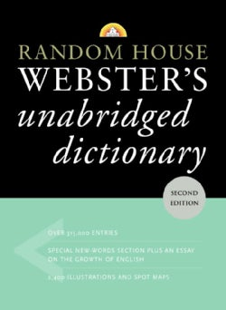Webster's Unabridged Dictionary (Hardcover)