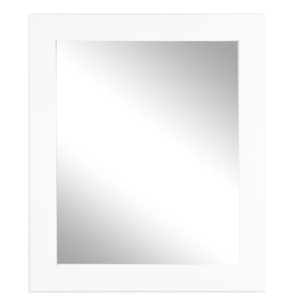 Large White Wall Mirror 32 x 38