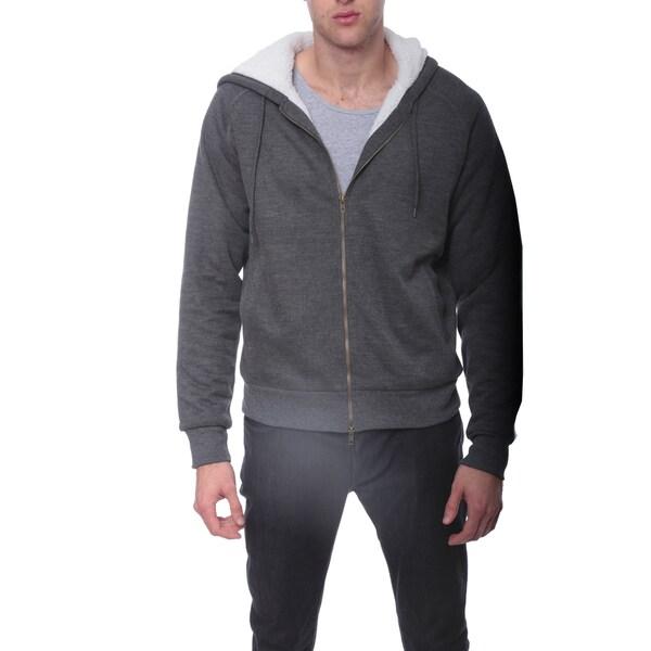 Men's Sherpa Hoodie Sweatshirt
