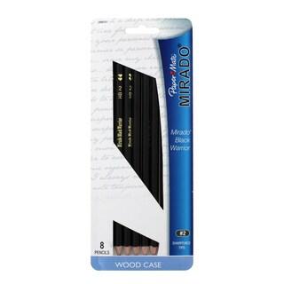 Paper Mate Mirado Black Warrior Woodcase Pencils (#2, HB)