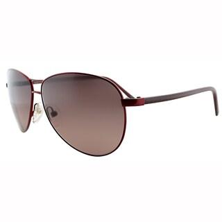 Fendi Unisex FS 5194 604 Red Metal Aviator Sunglasses