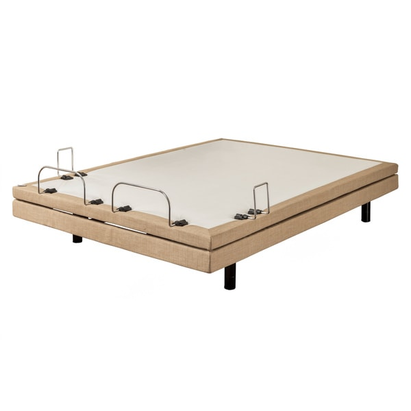 Sleep Zone M-300 Dum Dum Stone Queen-size Adjustable Bed with Three Programmable Positions