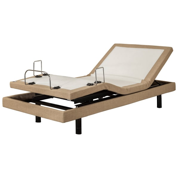 Sleep Zone M-300 Dum Dum Stone Twin XL-size Adjustable Bed with Three Programmable Positions