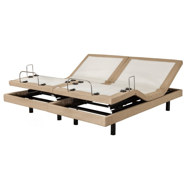 Sleep Zone M-300 Dum Dum Stone Split King Adjustable Bed