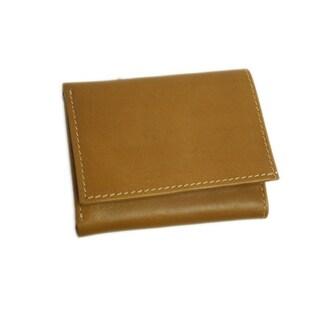 Piel Leather Tri-Fold Wallet