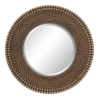 Lyon Antique Silver Finish Wall Mirror