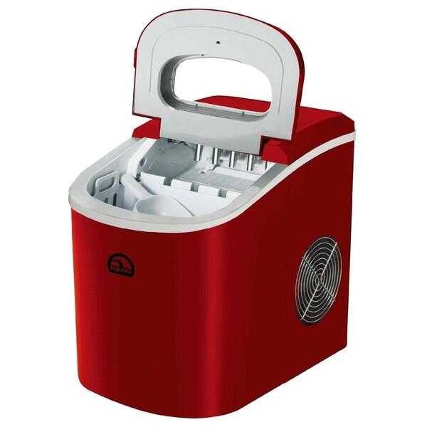 iGloo ICE102 Compact Red Ice Maker