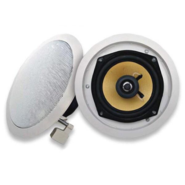 Acoustic Audio HD5 In Ceiling Speaker Pair 2 Way Home Theater 500 Watts HD5-PR