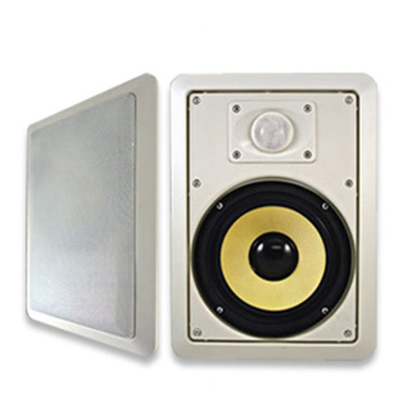 Acoustic Audio HD650 In Wall 6.5-inch Speaker Pair 2 Way Home Theater 600 Watts HD650-PR