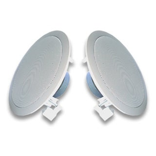 Acoustic Audio R191 In Ceiling / In Wall Speaker Pair 2 Way Home Theater 400 Watt R191-PR