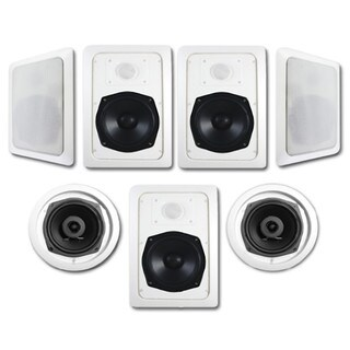 Acoustic Audio HT-57 1400 Watt 7.1CH In-Wall/ Ceiling Home Theater Speaker System