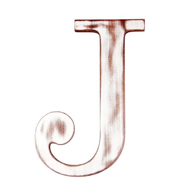 Mahogany Letter J
