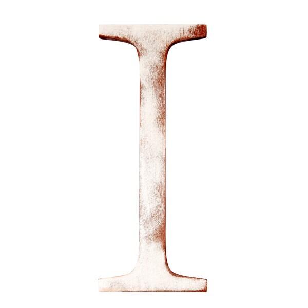 Mahogany Letter I