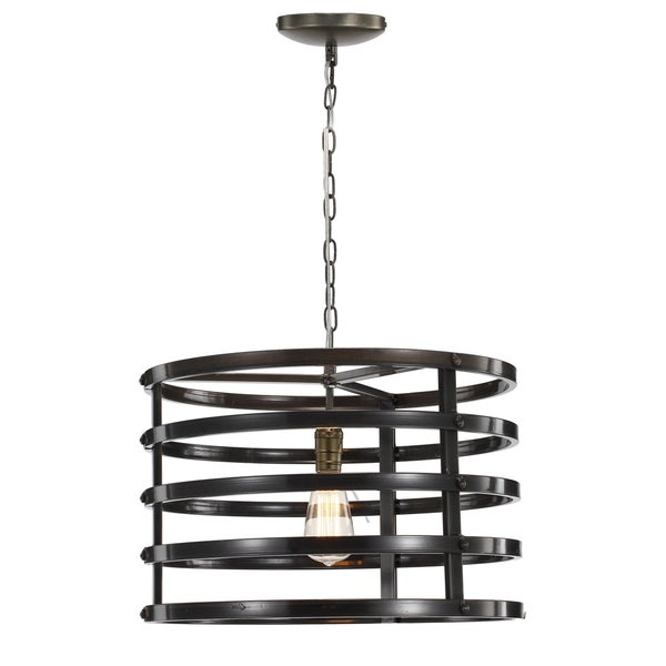 Rio Black Metal Chandelier