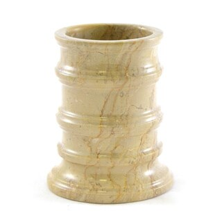 Nature Home Decor Bengal Collection Sahara Beige Marble Tumbler