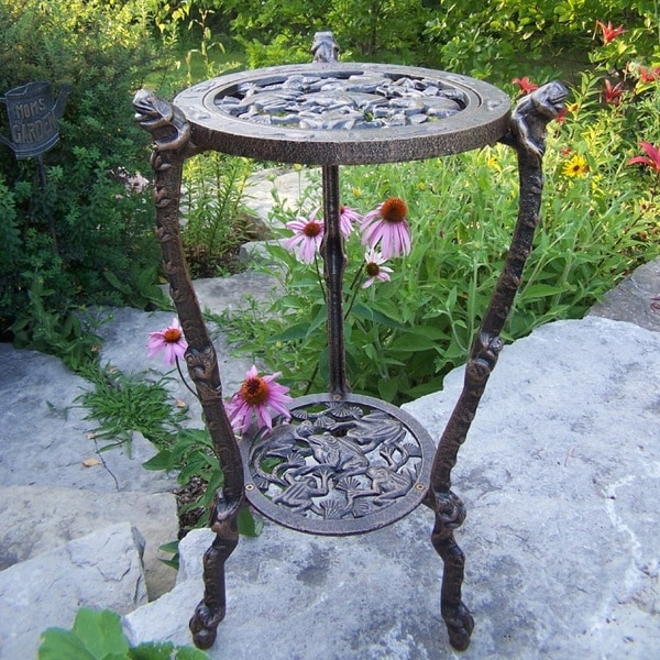 Frog Iron Table Plant Stand