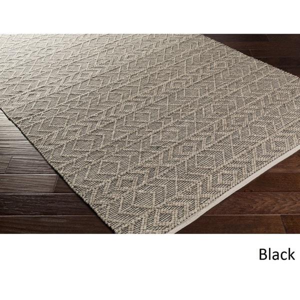 Hand-Woven Lewis Indoor Area Rug (2'6 x 8') 16926574