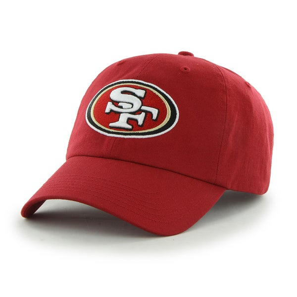 47 Brand San Francisco 49ers NFL Clean Up Hat 16926636