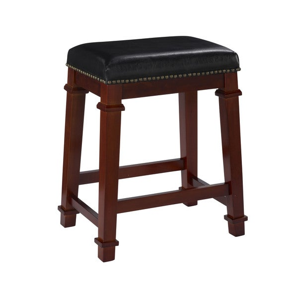 Oh! Home Elle Backless Bar Stool - Black