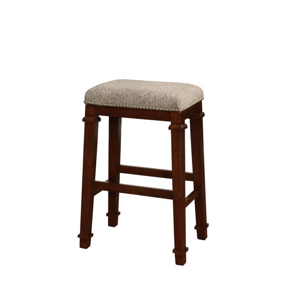Oh! Home Elle Backless Bar Stool - Tweed