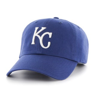 47 Brand Kansas City Royals MLB Clean Up Hat