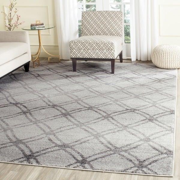 Safavieh Adirondack Silver/ Charcoal Rug (8' x 10')