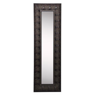 American Made Rayne Feathered Accent Mirror Panel