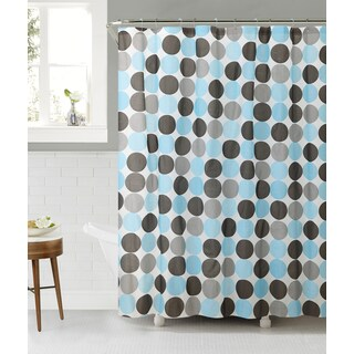 VCNY Orbit Peva Shower Curtain