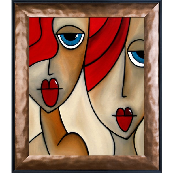 Tom Fedro 'And She Was' Framed Fine Art Print