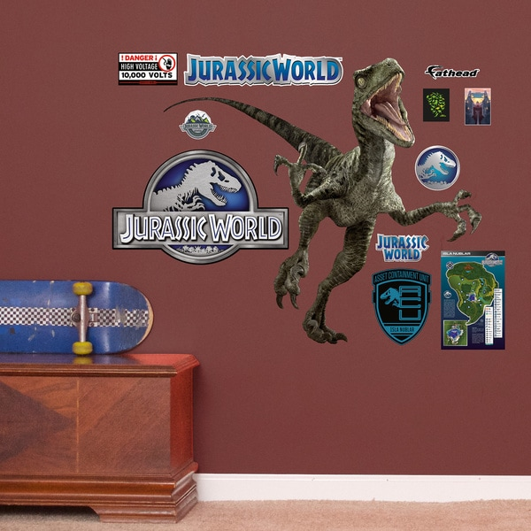 Velociraptor - Jurassic World - Fathead Jr