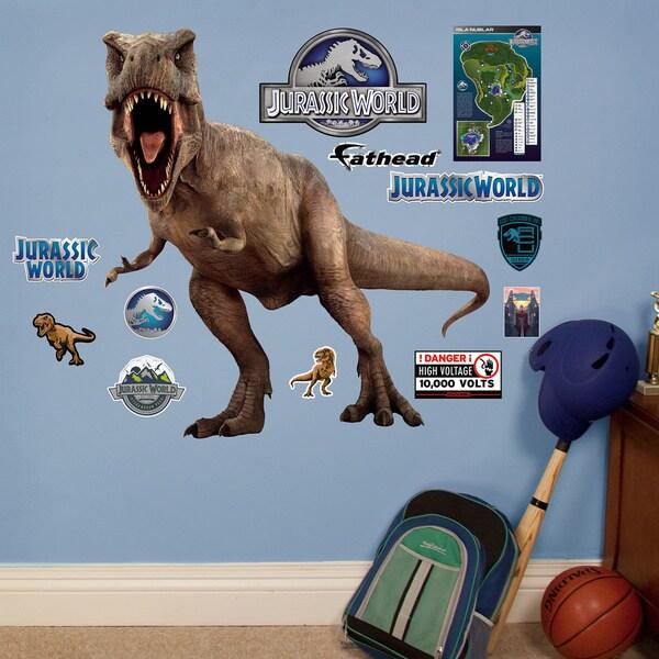 Jurassic World - T-Rex - Fathead Jr