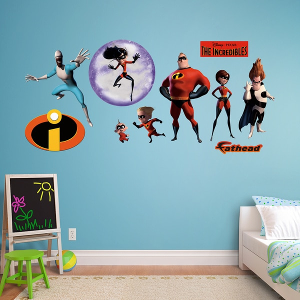 Fathead The Incredibles Collection Wall Decals