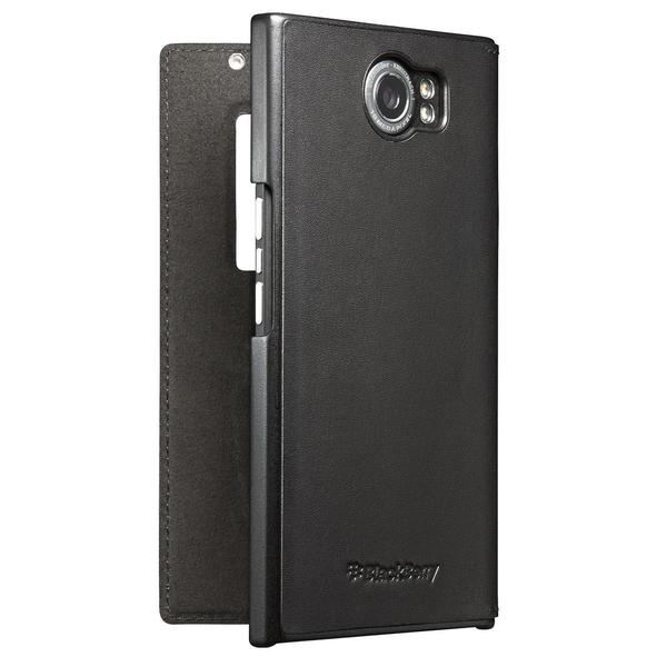 BlackBerry PRIV Leather Smart Flip Case - Retail Packaging