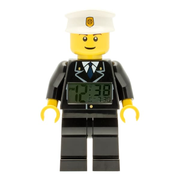 LEGO City 'Policeman' Moveable Minifigure Clock