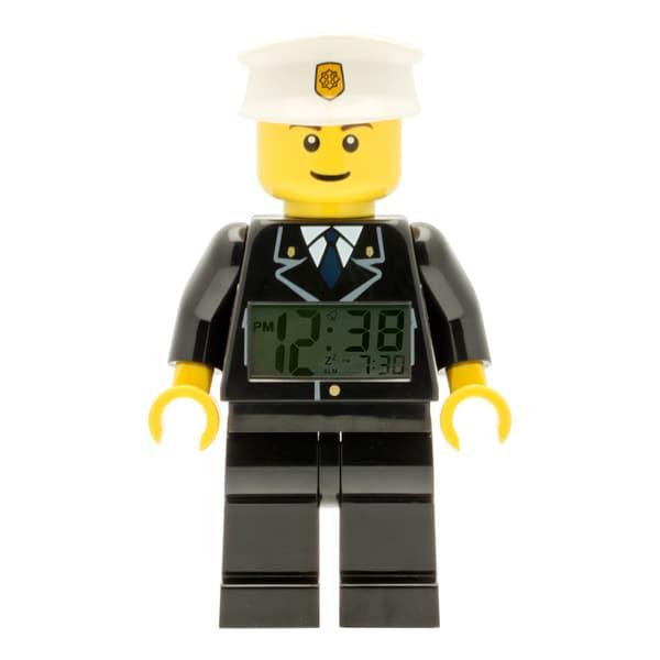 LEGO City 'Policeman' Moveable Minifigure Clock 16928096