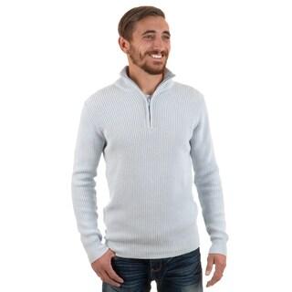 Vance Co. Men's Ribbed Zip Sweater