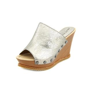 Kenneth Cole Reaction Women's 'Swell Ing' Leather Wedges Sandals