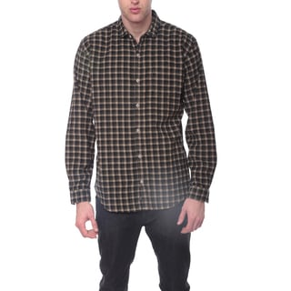 Men's Casual Checked Print Shirt