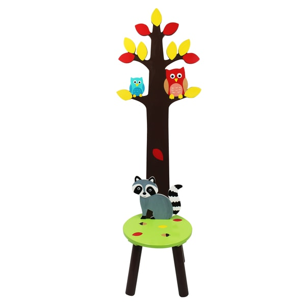 Fantasy Fields Enchanted Woodland Stool with Coat Rack