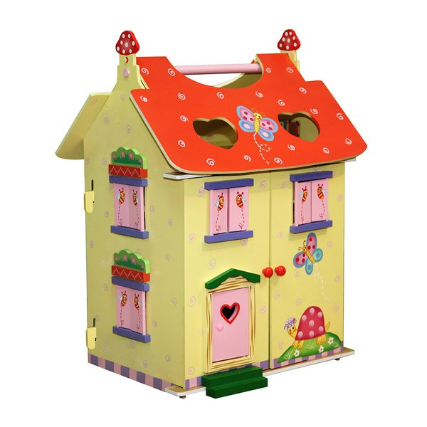 Teamson Fantasy Fields Magic Garden Hand-carry Doll House 16928545