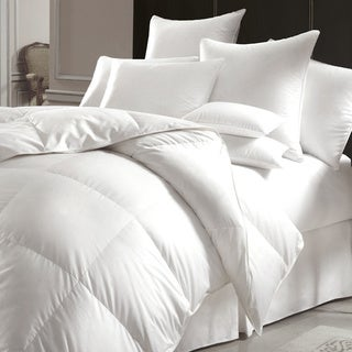 Urban Feather-filled White Microfiber Duvet Cover