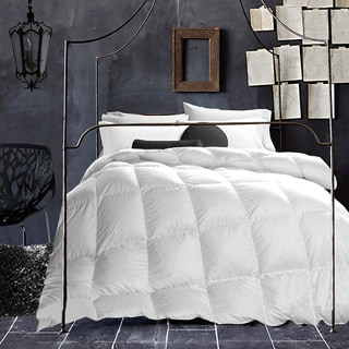White Wool-filled 200 Thread Count Cotton Duvet Cover