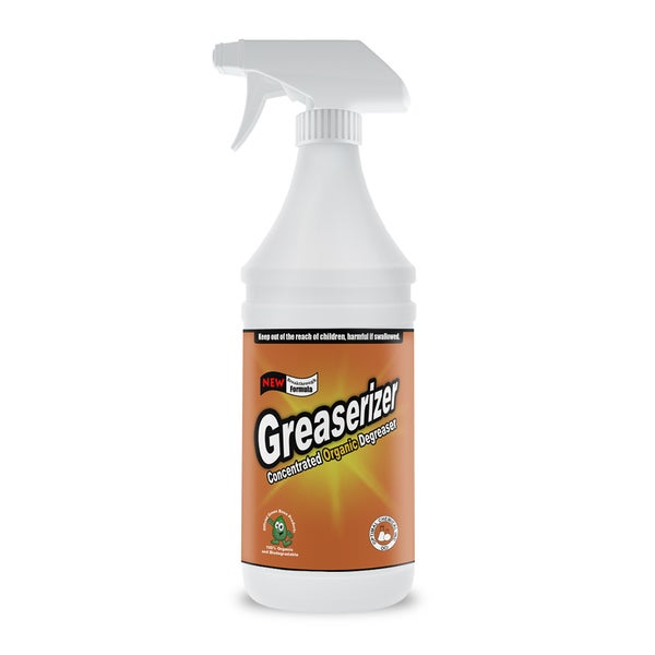 Greaserizer 32-ounce Non-toxic All-purpose Oil and Grease Cleaner