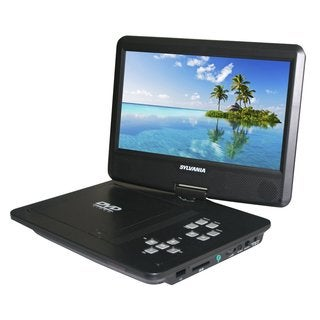 10-inch SD/ USB Swivel Portable DVD Player
